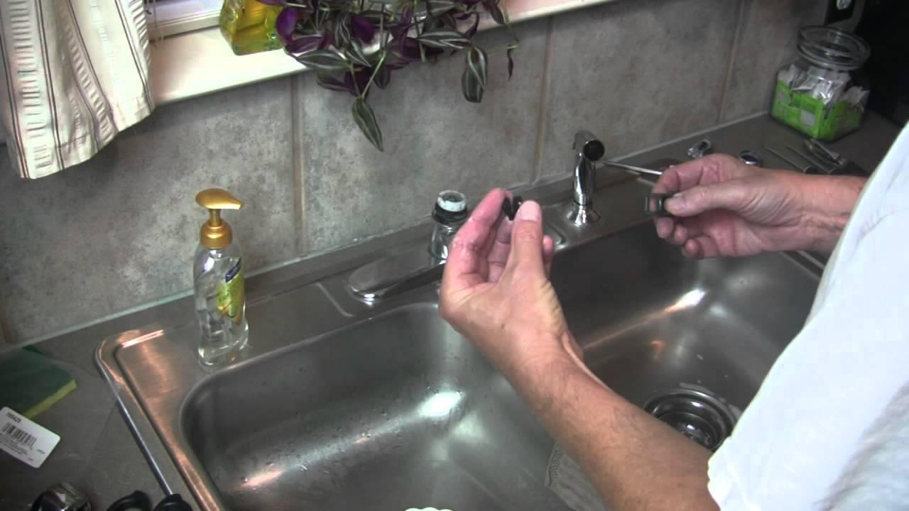 Moen Kitchen Faucet Handle Repair